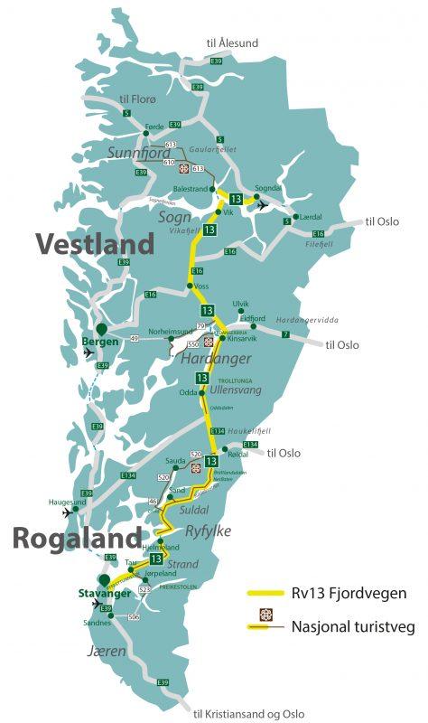 Kva er Nye Fjordvegen frå 2020?