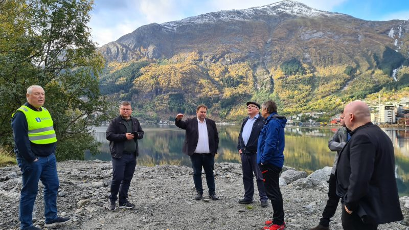 NTP 2022 - 2033: Fjordvegen Rute 13 sitt engasjement