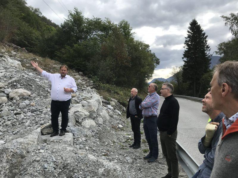 Oppfølging av NTP 2022 - 2033. Aktiv handling for skredsikring og standardheving frå Fjordvegen Rute 13